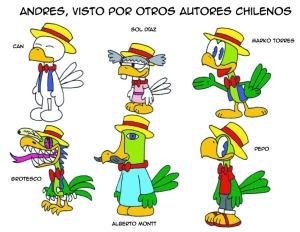 otros autores chilenos